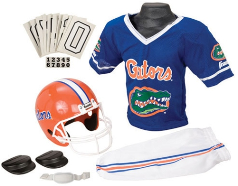 NCAA Football Uniform Sets